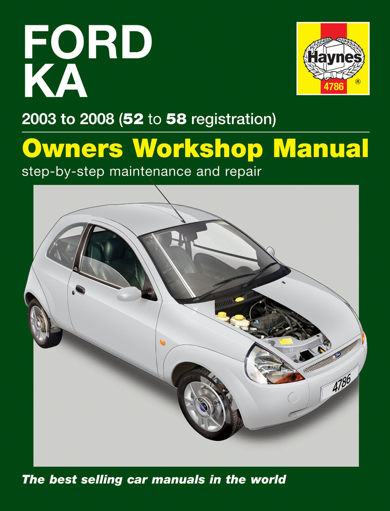 haynes workshop manual ford ka petrol 03 08 52 to 58 rh carspares4u co uk manual del ford ka 2007 manual del ford ka 2017